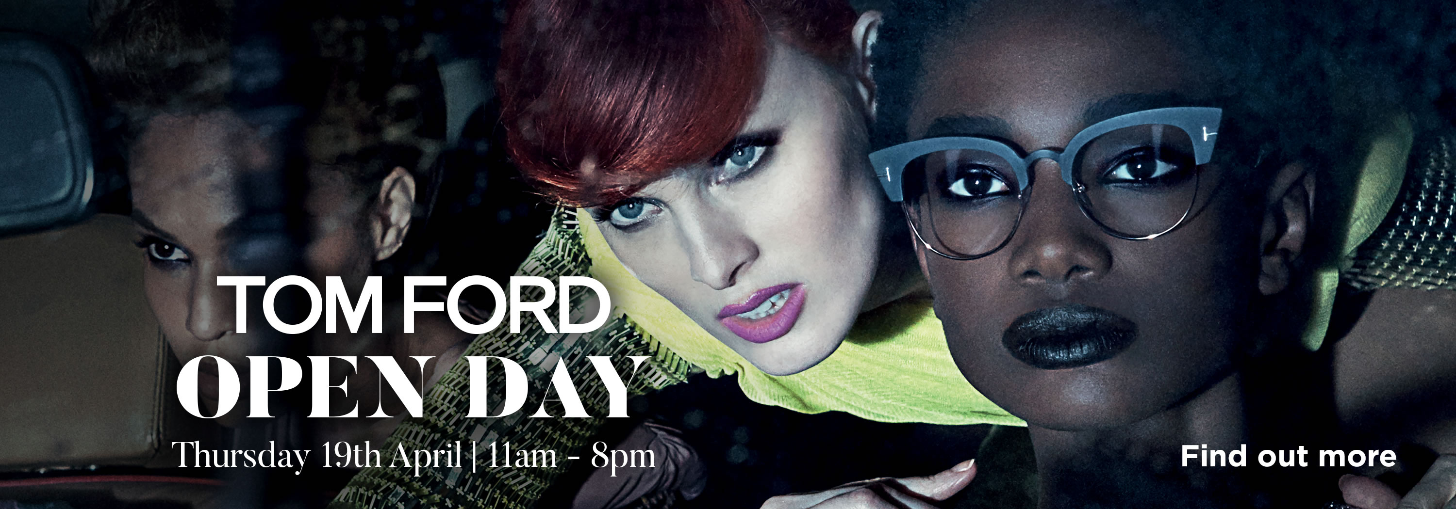 Tom Ford OPEN DAY- Northern Ireland Optician